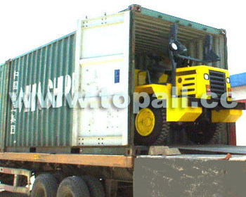3-ton Dumper Containerized for Shipment